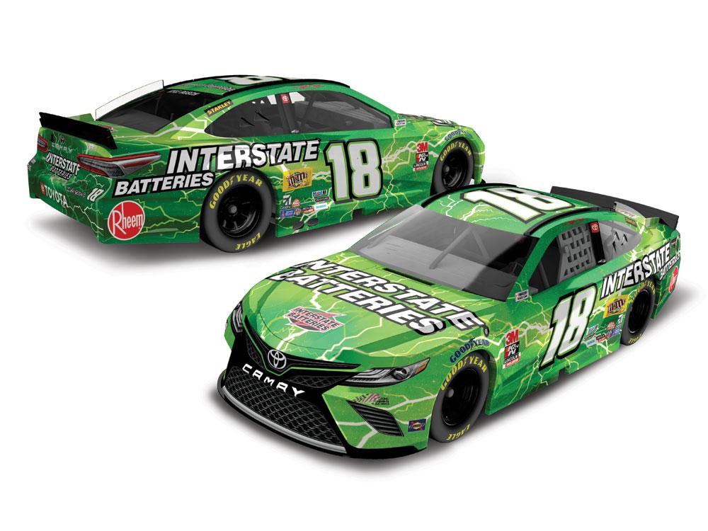 2020 Kyle Busch 1/64th Interstate Batteries car