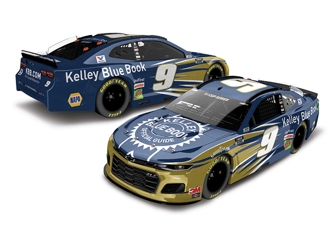 2020 Chase Elliott 1/64th Kelley Blue Book car