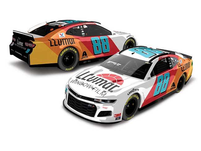 2020 Alex Bowman 1/64th LLUMAR car