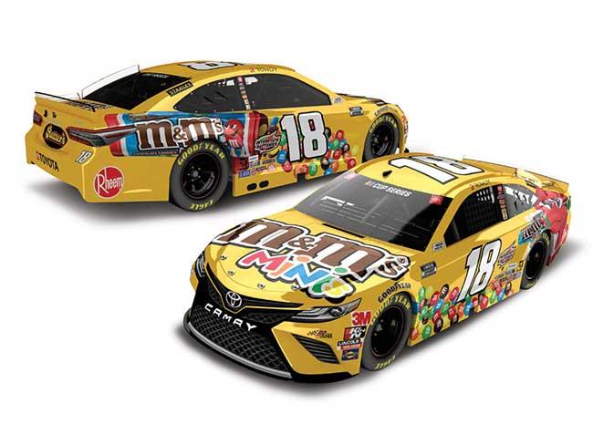 """2020 Kyle Busch 1/64th M&M's """"Minis"""" car"""