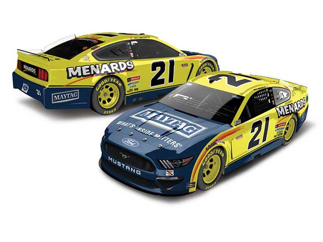 2020 Matt DiBenedetto 1/64th Maytag/Menards car