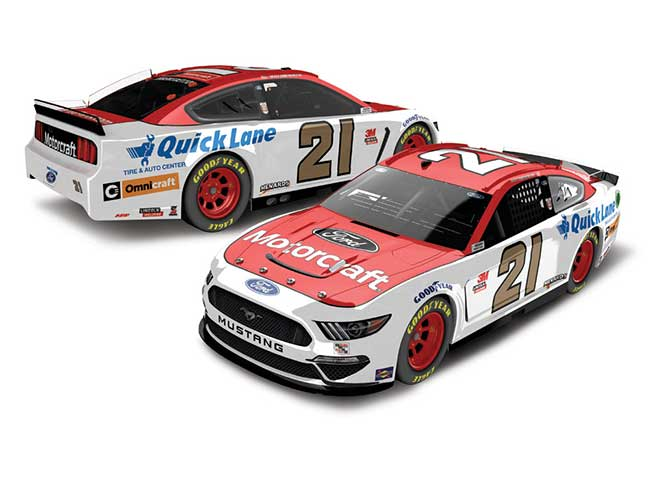 2020 Matt DiBenedetto 1/24th Motorcraft hood open car