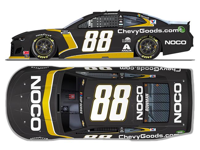 2020 Alex Bowman 1/64th NOCO/Chevy Goods.com car