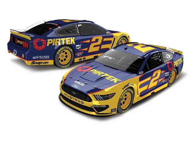 2020 Brad Keseloski 1/64th PIRTEX car