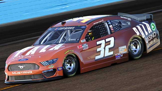 2020 Corey Lajoie 1/64th Pala Casino car