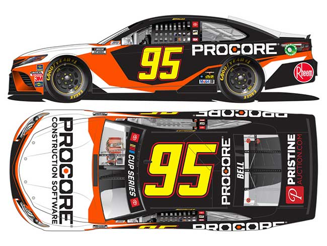 2020 Christopher Bell 1/64th Procore car