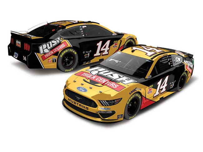 2020 Clint Bowyer 1/64th Rush Truck Centers car