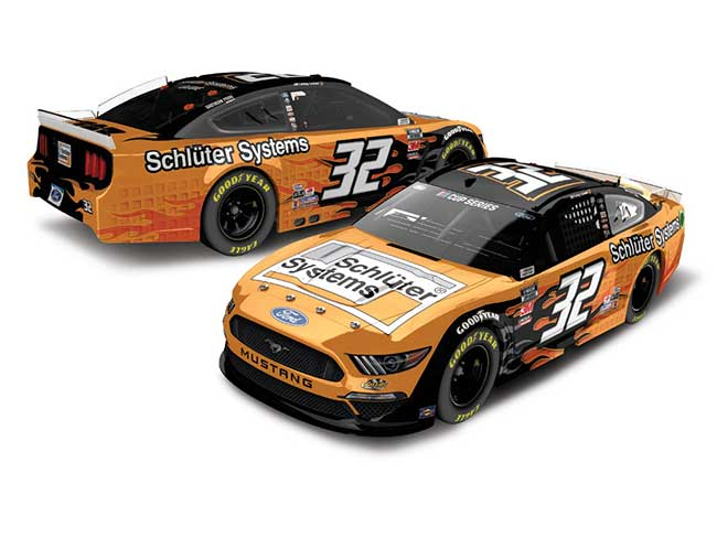 2020 Corey LaJoie 1/64th Schluter Systems car