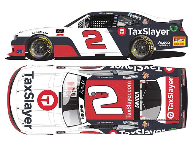 "2021 Myatt Snider 1/64th TaxSlayer ""Xfinity Series"" car"