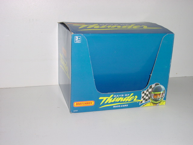 1990 Display Box for Days of Thunder Cars