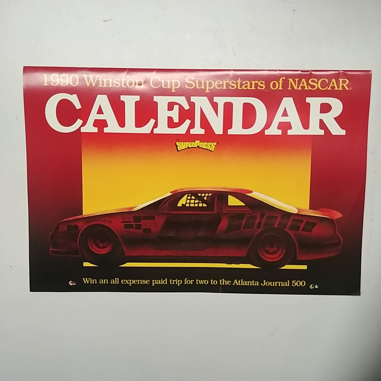 1990 Super Stars of Nascar Calendar