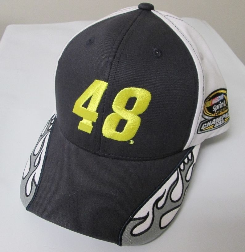 "2016 Jimmie Johnson Lowe's ""7-Time Champion"" Flame cap"