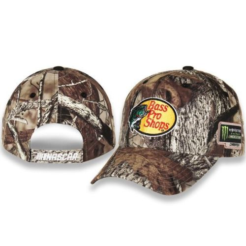 2017 Martin Truex Jr Monster Energy Champion Bass Pro True Timber hat