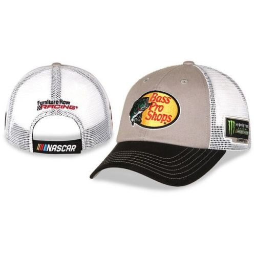 2017 Martin Truex Jr Monster Energy Champion Bass Pro Trucker Mesh hat