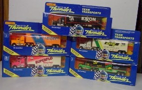 "1990 Days of Thunder 1/87th Hauler ""Set of Five"""