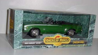 1969 1/18th Chrevy Camero SS 396 by Ertl Collectibles