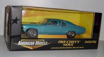1969 1/18th Chevy Nova by Ertl Collectibles
