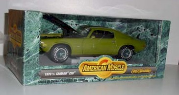 1970 1/2  1/18th Camaro Z28 by Ertl Collectibles