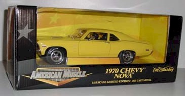 1970 1/18th Chrevy Nova by Ertl Collectibles