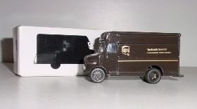 United Parcel Service 1/55th P600 Diecast Package car by Corporate Express