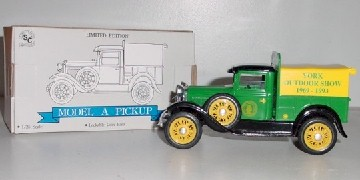 "Model A  Izaak Walton 1/25th ""1993 York Outdoor Show"" Ford Pickup"