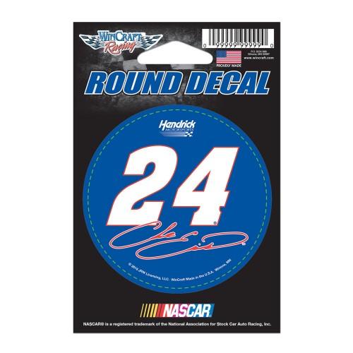 """2016 Chase Elliott NAPA 3"""" round decal"""