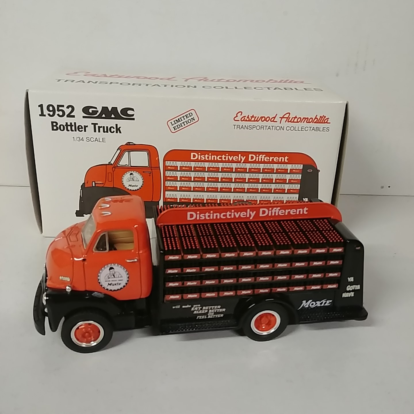 1952 GMC Moxie 1/34th Bottle Truck by Eastwood Automobilia