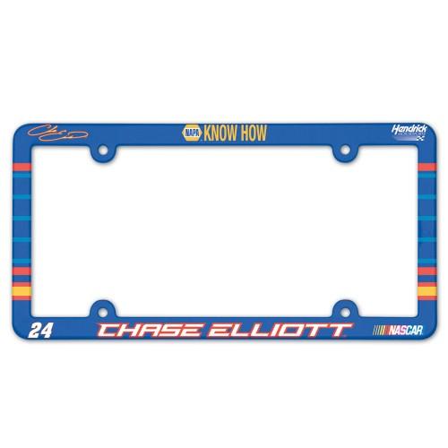 2016 Chase Elliott NAPA plastic License Plate Frame