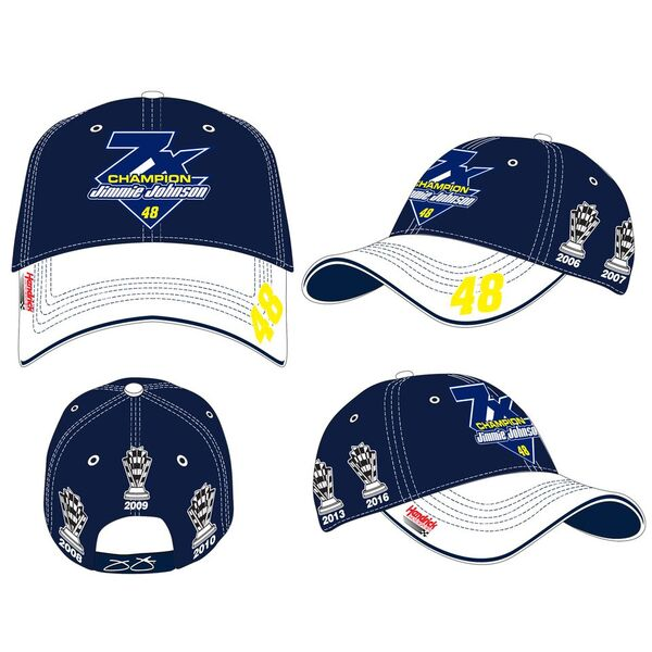 "2016 Jimmie Johnson Lowe's ""7-Time Champion"" Trophy hat"