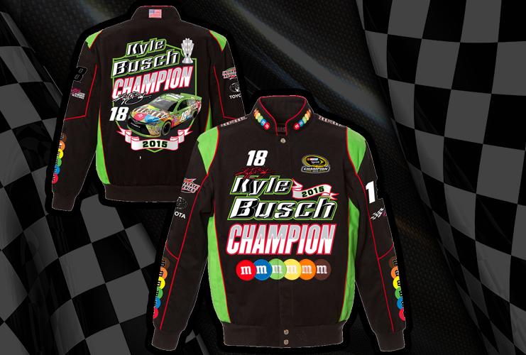 "2015 Kyle Busch M&M's ""Sprint Cup Champion"" Uniform Jacket"