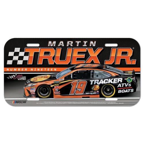 2019 Martin Truex Jr Bass Pro Shops plastic license plate
