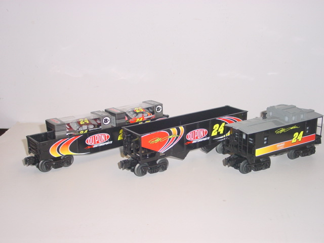 2013 Jeff Gordon Lionel Train Set