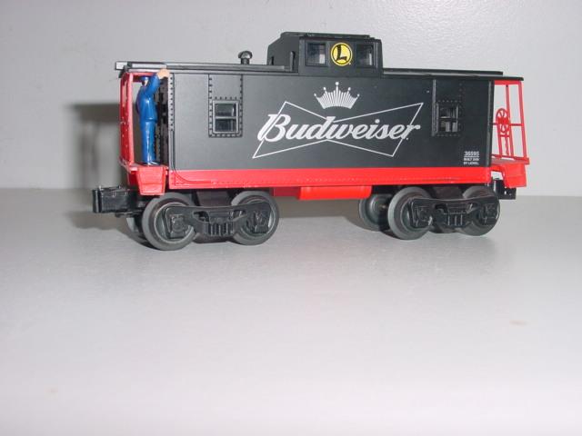 Lionel Budweiser 36595 Caboose