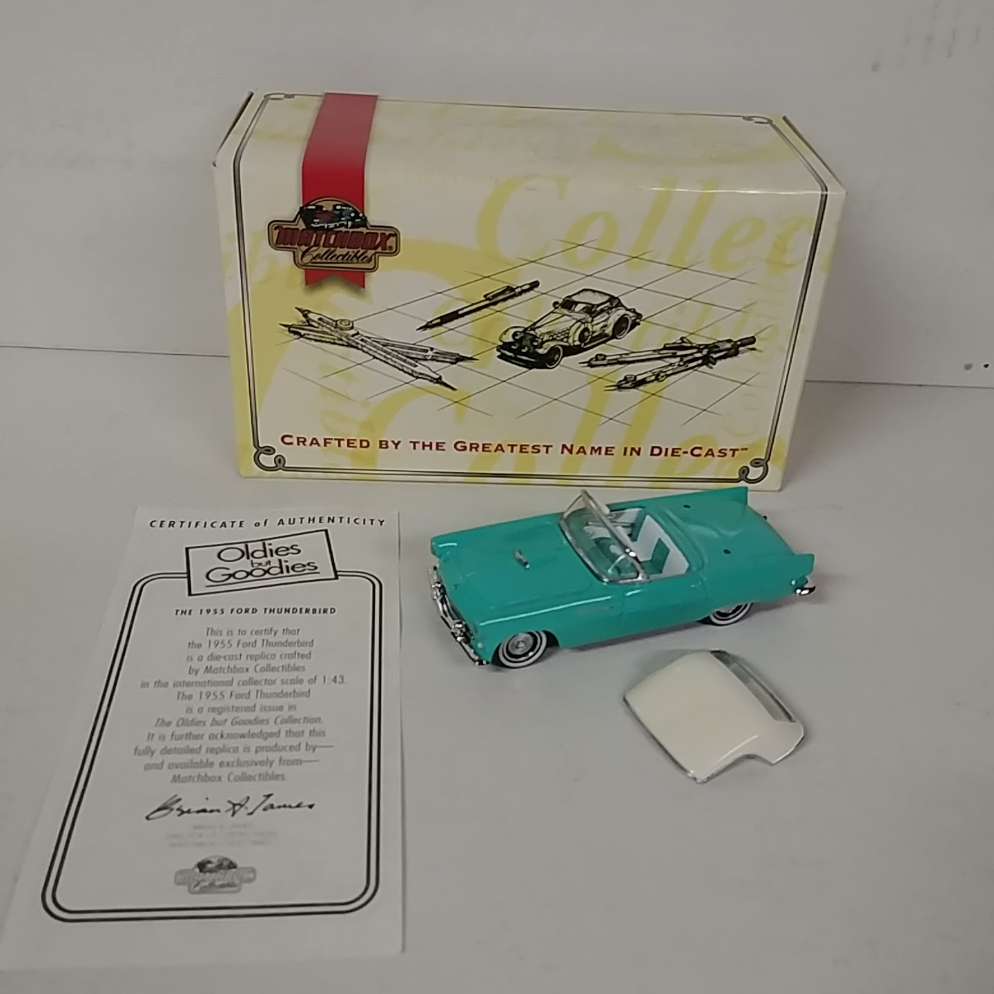 1955 Ford 1/43rd Thunderbird Oldies But Goodies Collection
