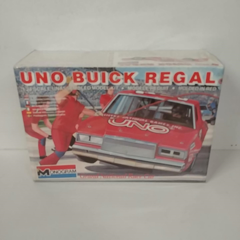 1983 Buddy Baker 1/24th UNO Buick Regal model kit by Monogram