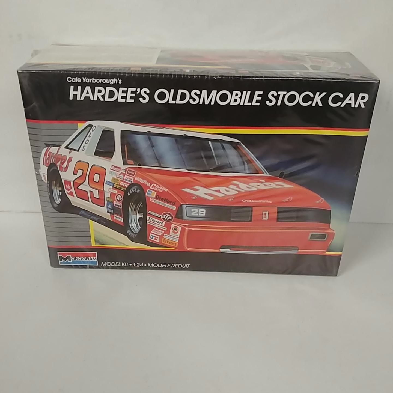 1987 Cale Yarborough 1/24th Hardee's Oldsmobile model kit by Monogram