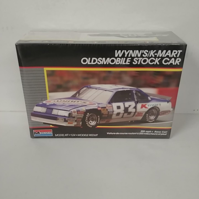 1988 Lake Speed 1/24th Wynns Kmart Oldsmobile model kit by Monogram