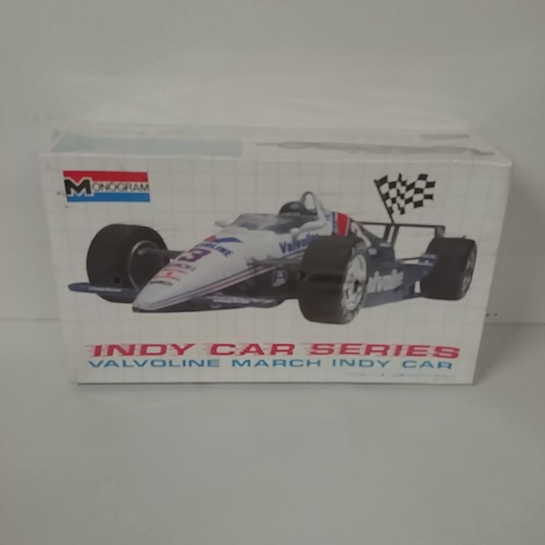 1989 No Driver 1/24th Valvoline Indy Car Series model kit by Monogram