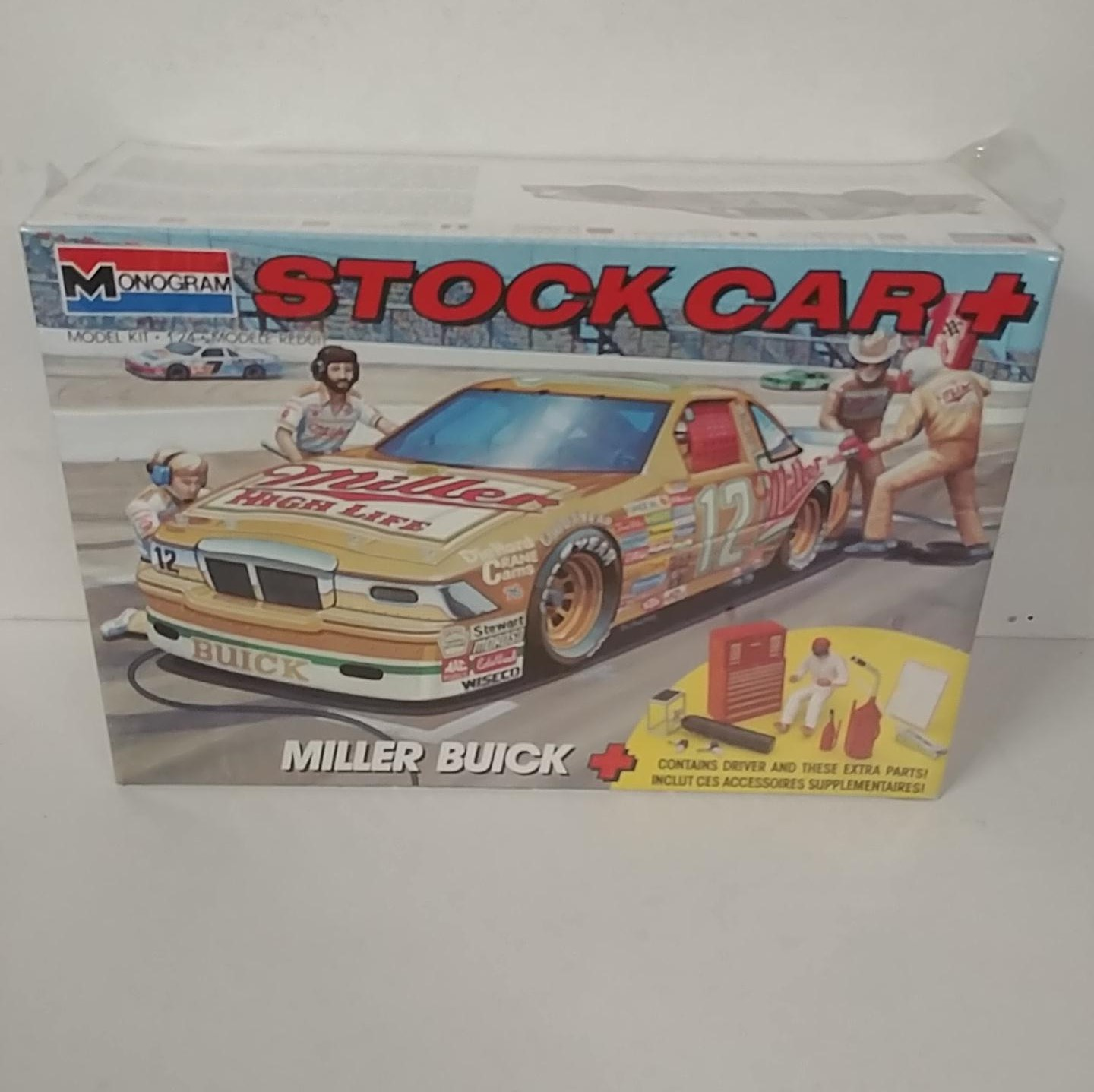 1988 Unknown Driver 1/24th Miller High Life Buick model kit by Monogram