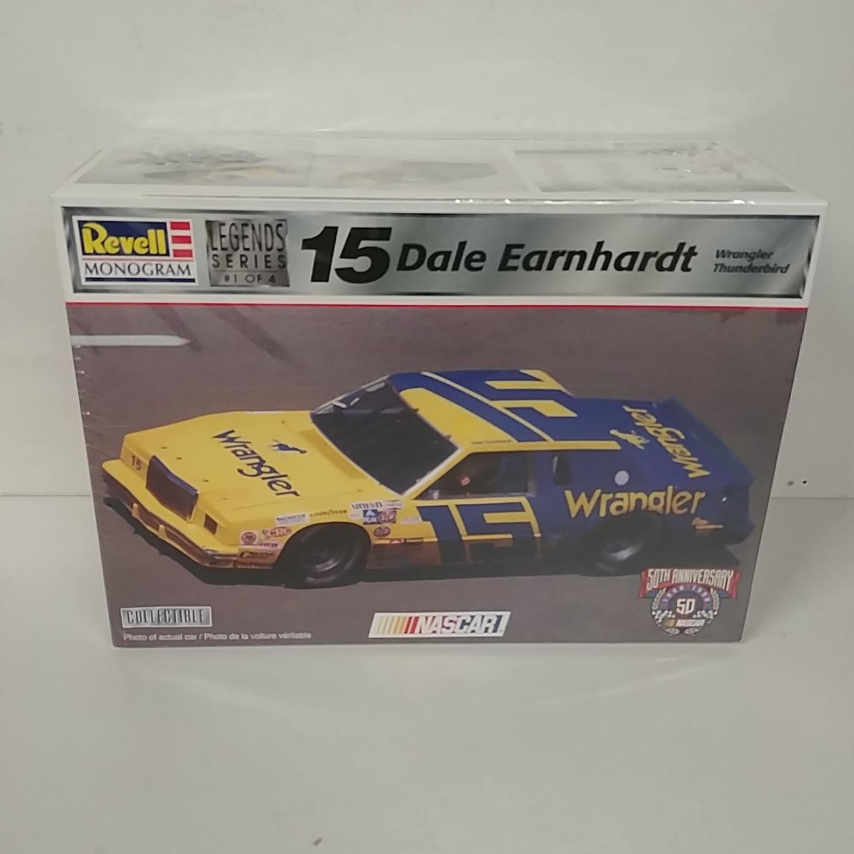 1982 Dale Earnhardt 1/24th Wrangler Jeans Thunderbird Model Kit by Revell