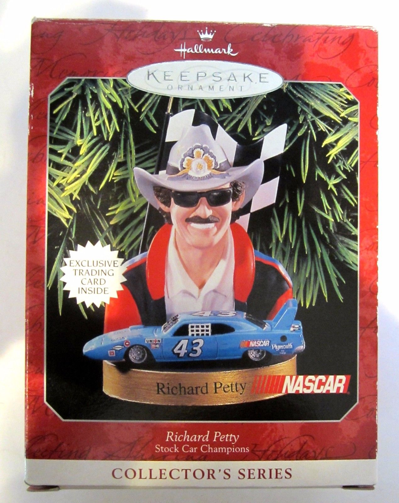 1998 Richard Petty Christmas Ornament by Hallmark