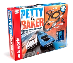 2015 Petty vs Baker Slot Car Set