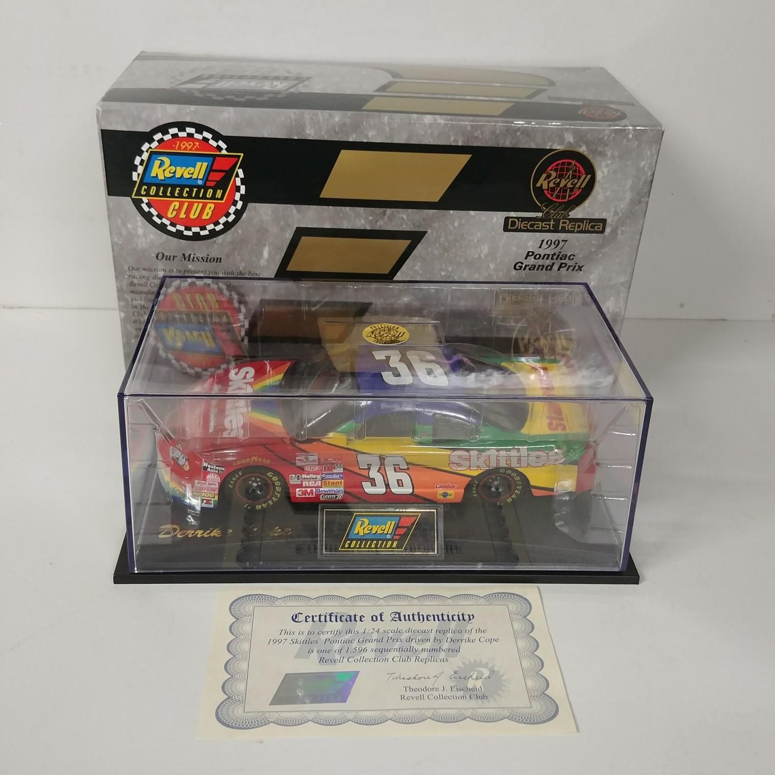 1997 Derrike Cope 1/24th Skittles car