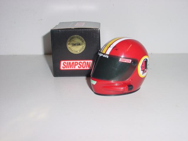 1996 Bobby Labonte 1/4 Redskins mini helmet