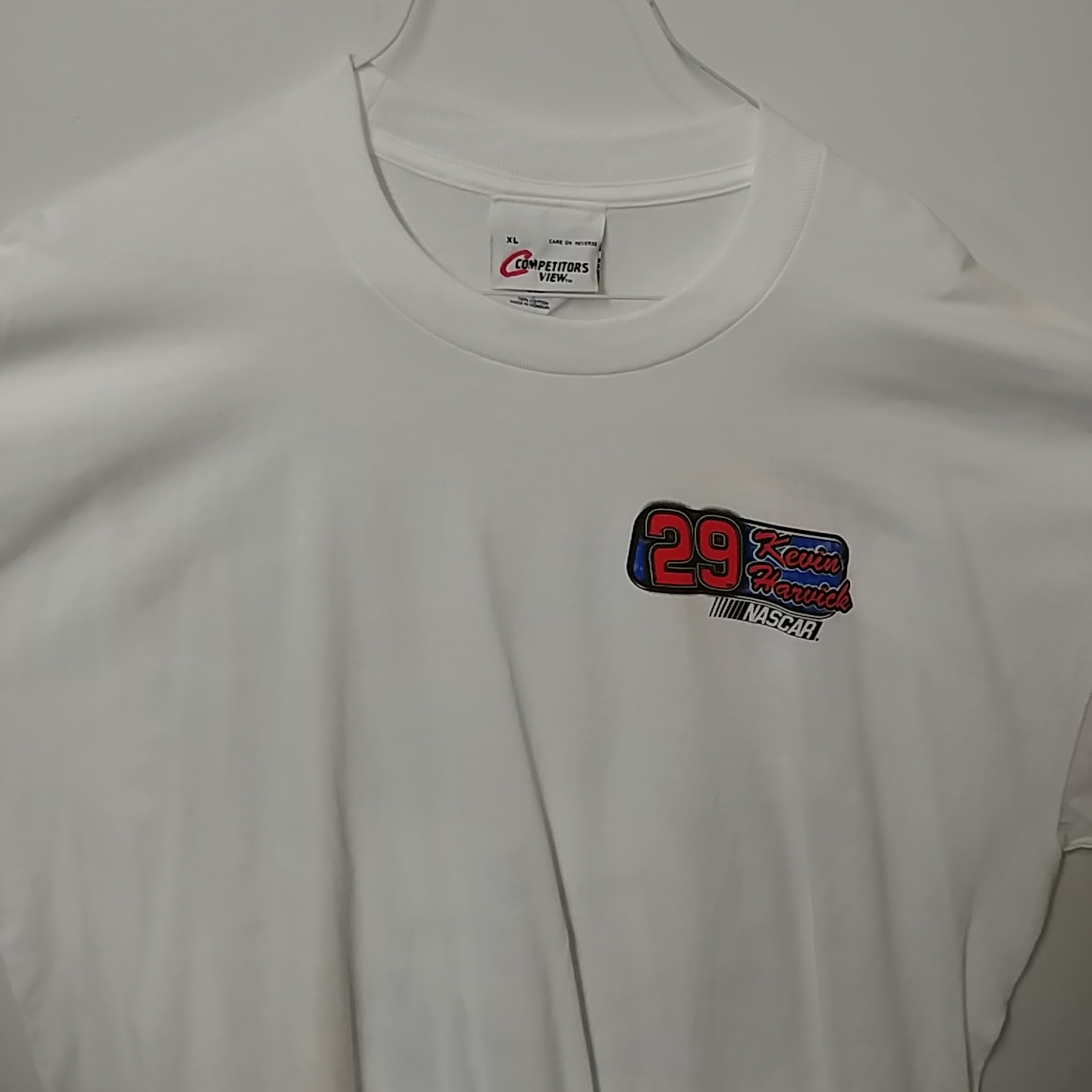 """2001 Kevin Harvick GM Goodwrench """"Right on Track"""" tee"""