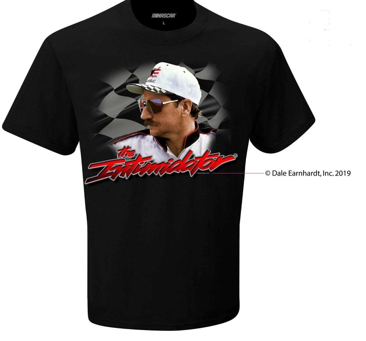 "2019 Dale Earnhardt ""Intimidator"" black tee"