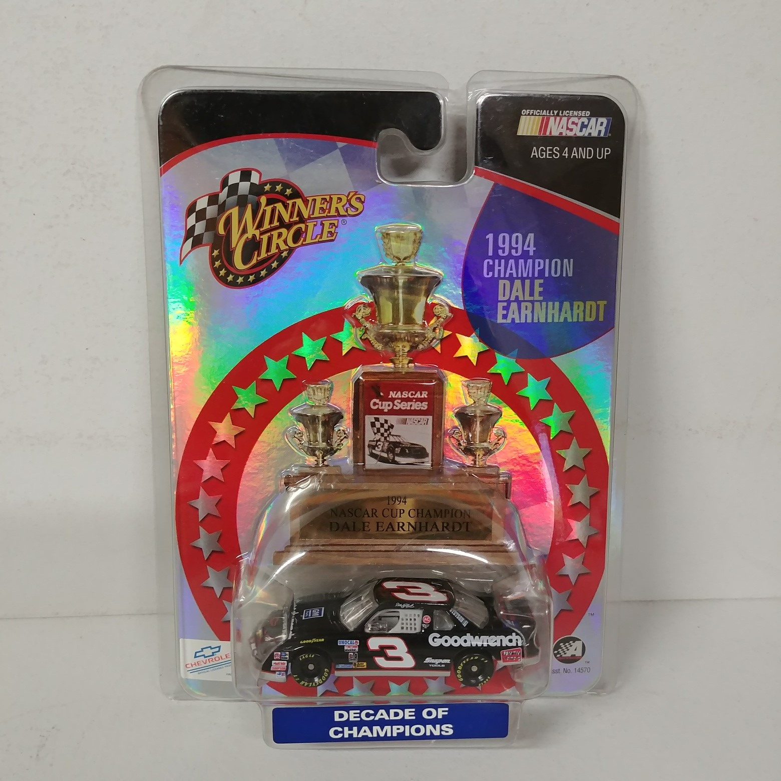 """1994 Dale Earnhardt 1/64th GM Goodwrench """"Winston Cup Champion"""" car"""
