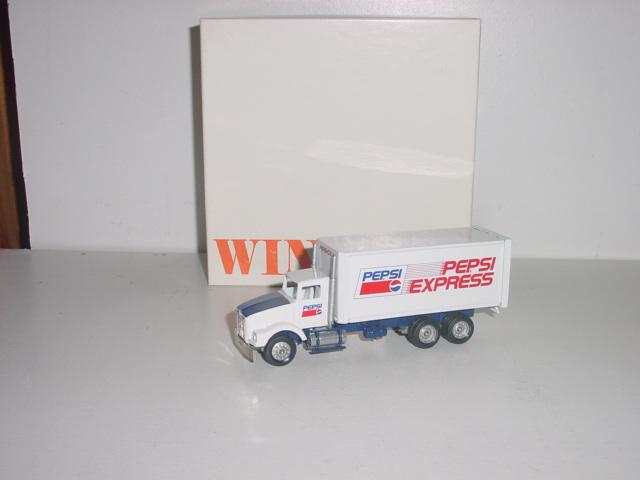 Pepsi Express Staright Truck