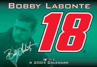 """2004 Bobby Labonte 16"""" x 11"""" wall calendar"""