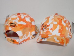 "2008 Dale Earnhardt Jr ""JR Nation"" Ladies ""Orange Camo"" cap"
